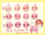 [UNLIMITED SLOT] Chibi Headshot YCH by nayanachi