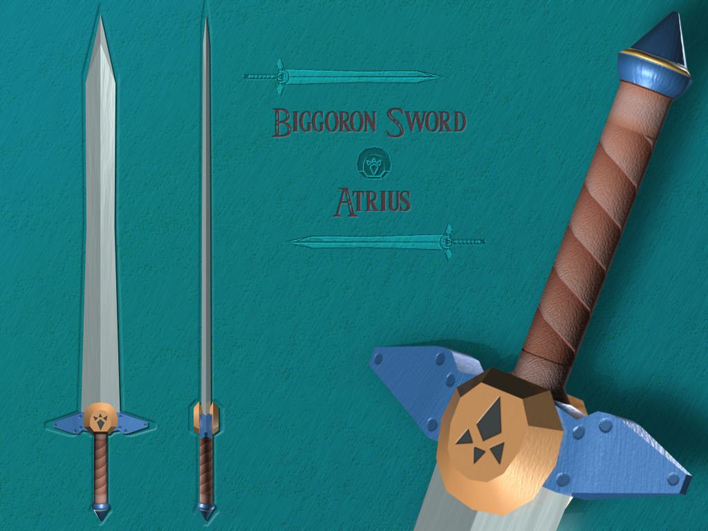 Fierce Deity Sword Replica