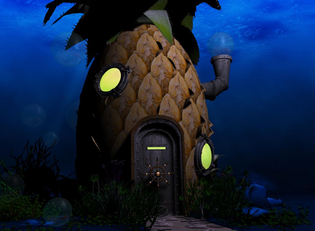 Spongebob Squarepants House Liveing Room