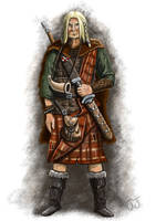 Celtic warrior