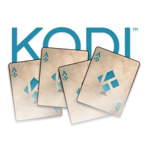 KODI LOGO 4 ACESa1 T-shirt