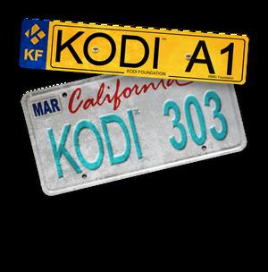 Kodi Registration Plate Uk  Usa