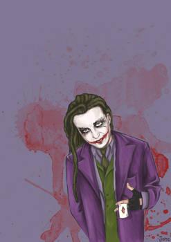 Baron, as Joker.