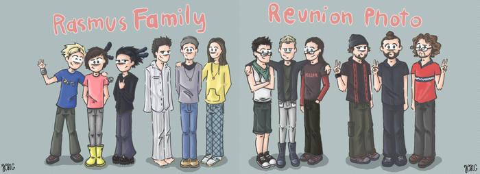Rasmus Family Reunion Photo.