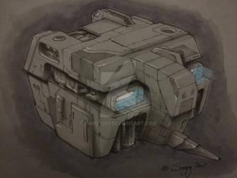 Military concept ship design