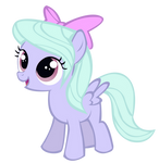 Filly Flitter vector - MLP:Fim