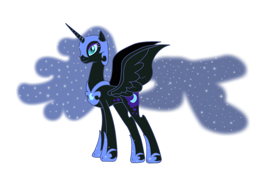Nightmare Moon vector - MLP:FiM by Serginh