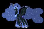 Nightmare Moon vector - MLP:FiM