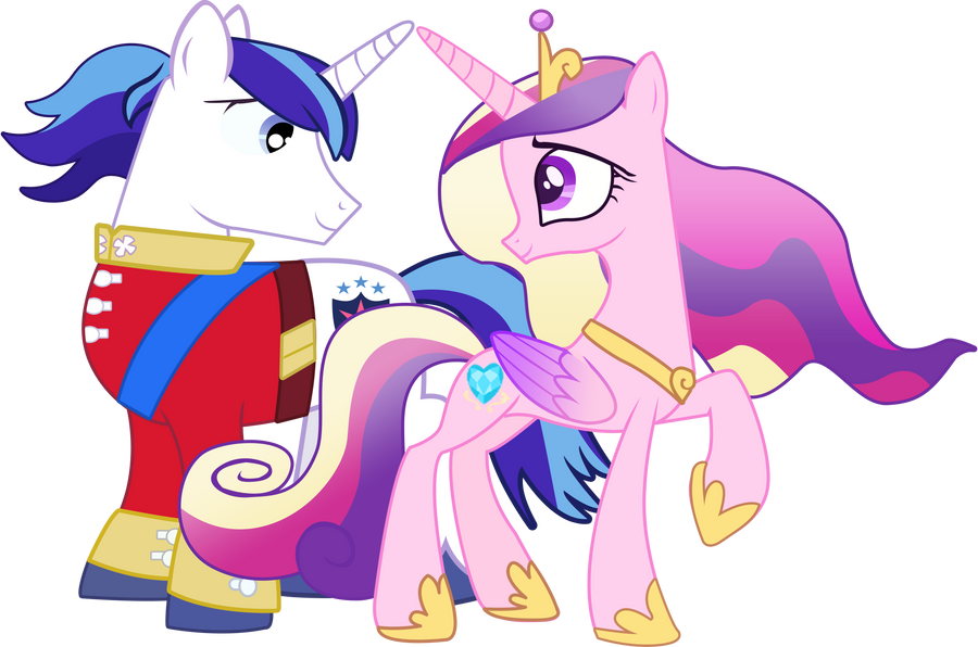 Shining Armor and Princess Cadence by Serginh on DeviantArt