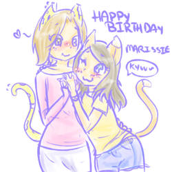 Happy Birthday Marissie by SmilyXAlli
