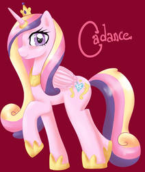 Princess Cadance by SmilyXAlli