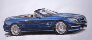 Mercedes-Benz SL65 AMG (colored)