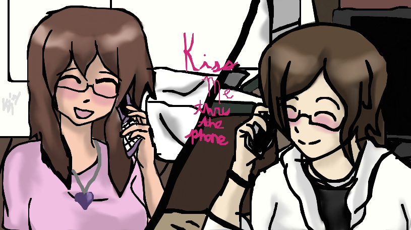 Kiss Me Thur The Phone 119