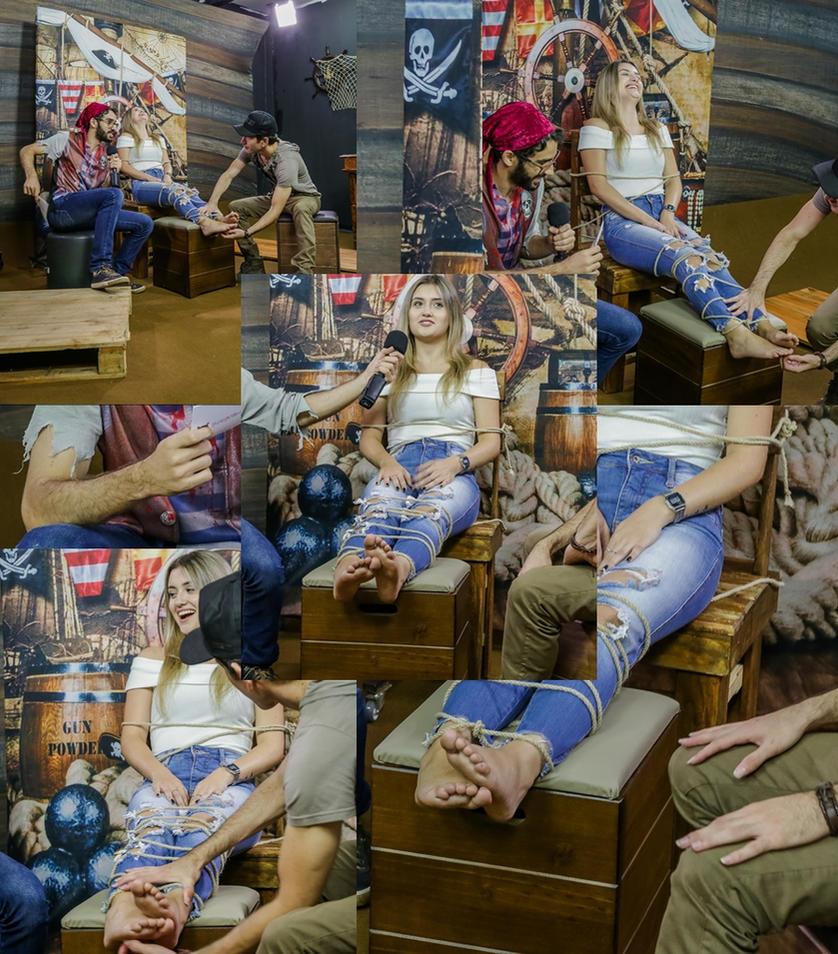 Tickling Feet Blonde- various ( Brazil game show ) by raposa2