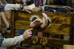 Zoe's Sensitive Feet in Tickling Challenge pt11