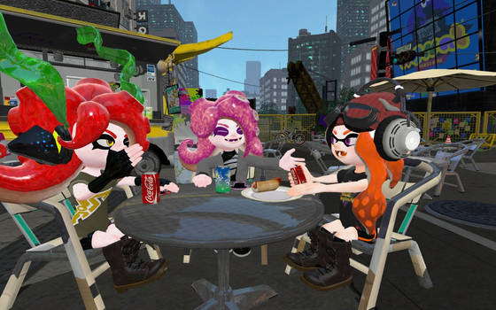 [GMOD] [Splatoon] Besties Time