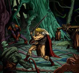 King Grayskull vs. by gustarzinger