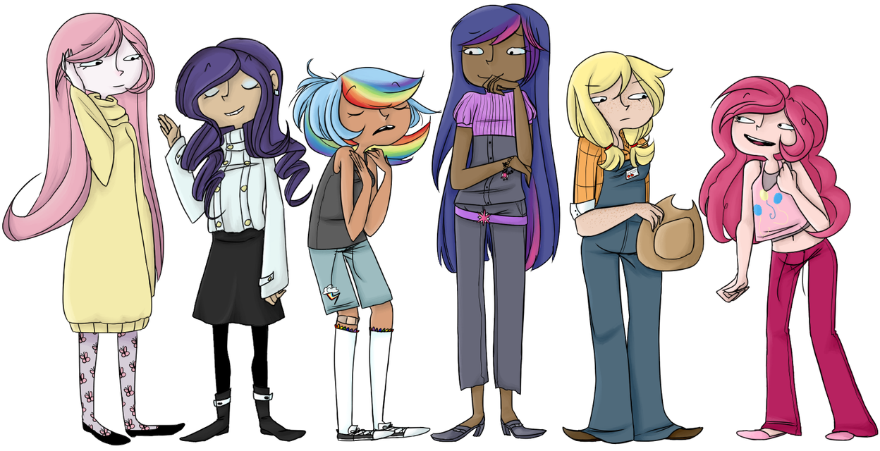 ponies that aren't actually ponies by Shabashoobi