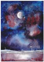 Moon by KasaLaurend