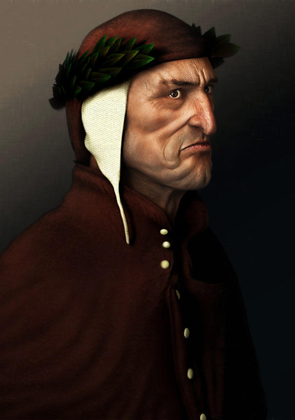Dante's Portrait - adjusted by drummer00