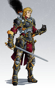 IKRPG Commission - OrdicWarcaster
