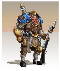 IKRPG Commission - Ogrun Trencher