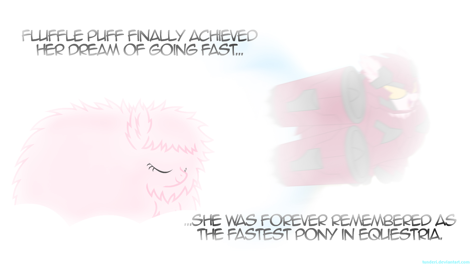 Fluffle Puff went fast WP by TunDeri