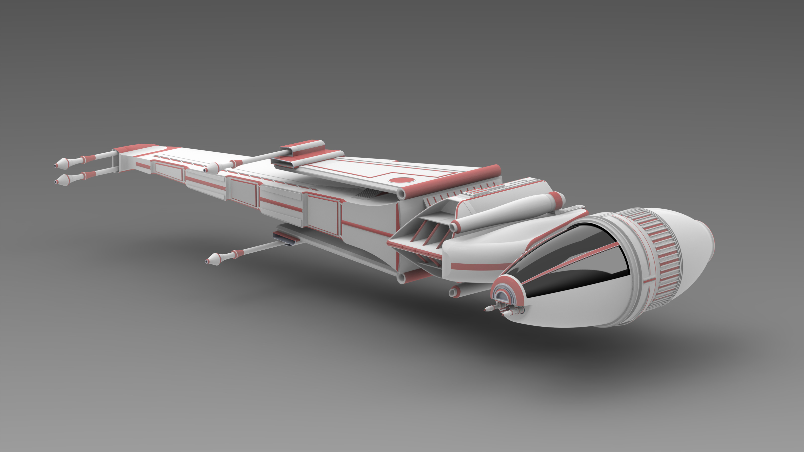 star wars b-wing star fighter concept by Republic2033 on