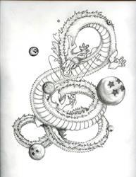 Shenron by EraserRain16