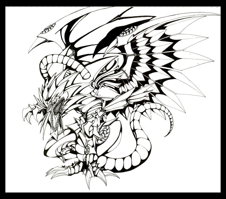The Winged Dragon of Ra by EraserRain16