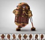 Steampunk R2D2 (Steamy)