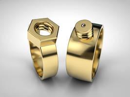 Rings for mechanics by NIKOMEDIA