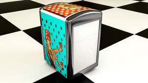 Napkin Despenser (C4D Projectfile included) by NIKOMEDIA
