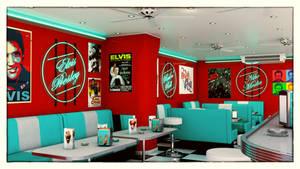 American Diner (reworked) by NIKOMEDIA
