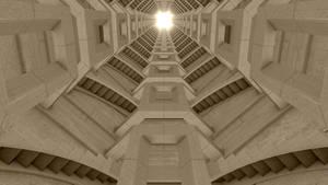 Stairway Tower by NIKOMEDIA