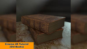 Old Books (Cinema 4D Tutorial)