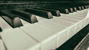 Old Piano Picture