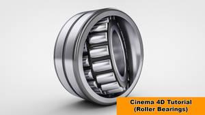 Cylinder Bearings (Cinema 4D Tutorial) by NIKOMEDIA