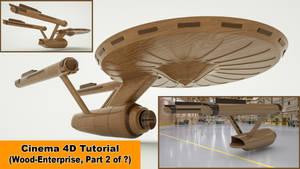 Wood Enterprise - Part 2 (Cinema 4D Tutorial)