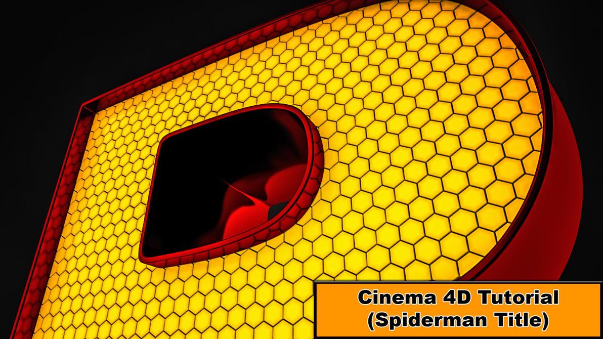 spiderman title cinema 4d tutorial by nikomedia on. Black Bedroom Furniture Sets. Home Design Ideas