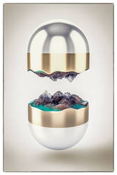 Landscape in a capsule by NIKOMEDIA
