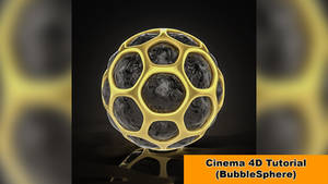 BubbleSphere (Cinema 4D Tutorial) by NIKOMEDIA