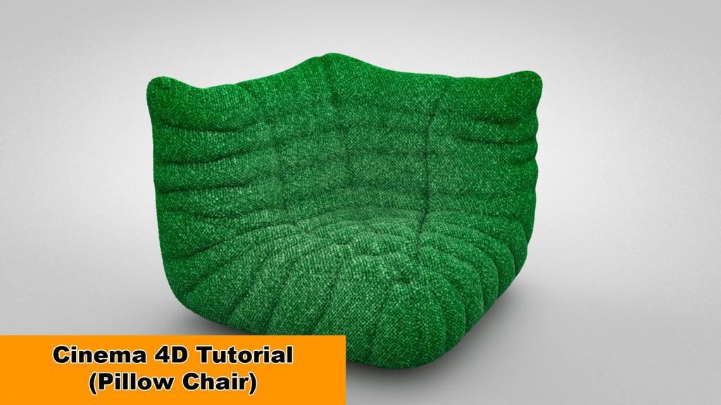 Pillow Chair (Cinema 4D Tutorial) by NIKOMEDIA