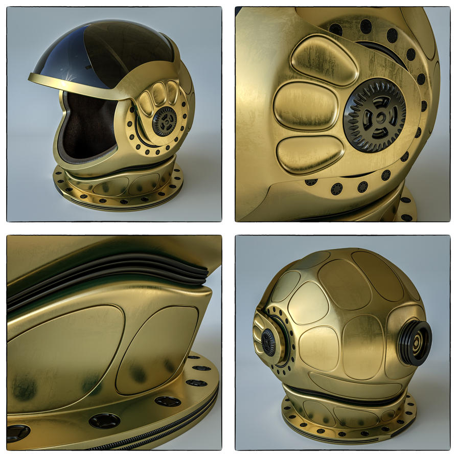 Fantasy Helmet by NIKOMEDIA