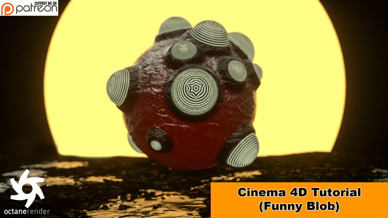 Blobby (Cinema 4D - Octane Tutorial) by NIKOMEDIA