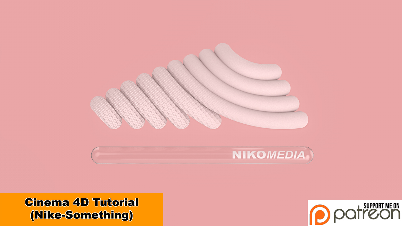 Nike-Something (Cinema 4D - Tutorial) by NIKOMEDIA
