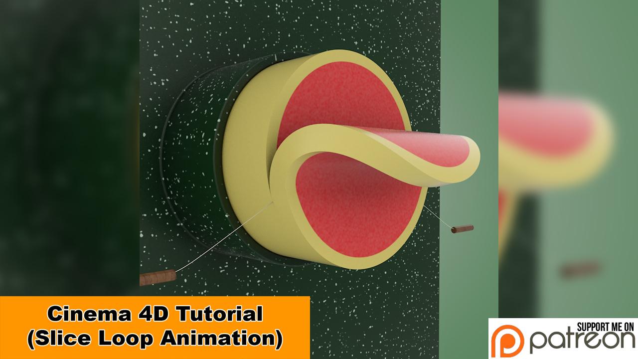 Slice Loop (Cinema 4D - Tutorial) by NIKOMEDIA