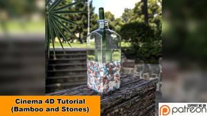 Bamboo and Stones (Cinema 4D - Tutorial) by NIKOMEDIA