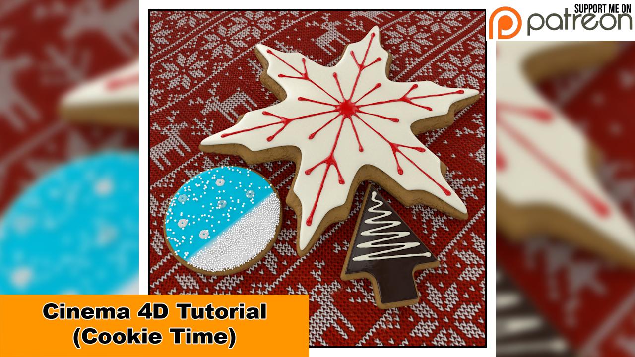 Cookie Time (Cinema 4D Tutorial) by NIKOMEDIA