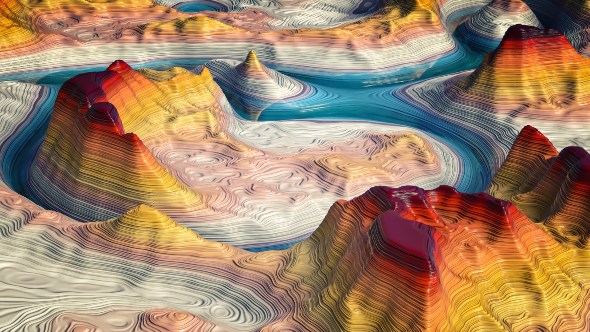 COLORFUL CANYON by NIKOMEDIA